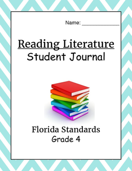 Florida Standards Reading Literature Student Scales Journal