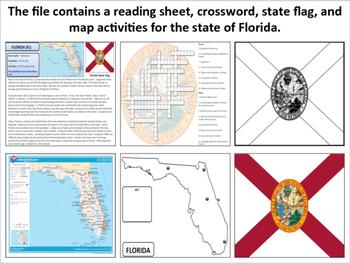Florida - State Activity Set