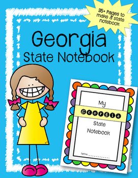 Georgia State Notebook. US History and Geography