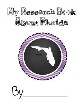 Florida State Research Student Book