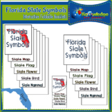 Florida State Symbols Interactive Foldable Booklets
