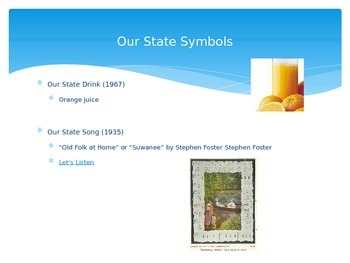 Florida State Symbols Power Point