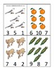 Florida State Symbols themed Count and Clip Game. Preschool Game