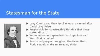 Florida Studies- Florida Statehood