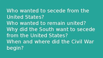 Florida Studies- The Civil War