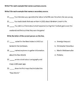 Florida Studies Weekly - 3rd Grade - Full Year Quiz Bundle