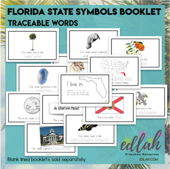 Florida State Symbols Booklet