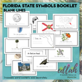 Florida State Symbols Booklet- Blank Lines
