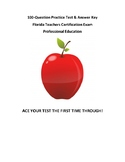 Florida Teacher's Certification Exam (FTCE) Professional E