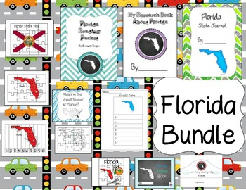 Florida Themed Bundle- 12 resources