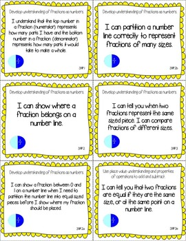 """Florida Third Grade Standards - All Subjects """"I Can"""" Posters & Statement Cards"""