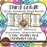 """Florida Third Grade Standards - All Subjects """"I Can"""" Poste"""