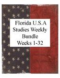 Florida U.S.A Studies Weekly Bundle Weeks 1-32