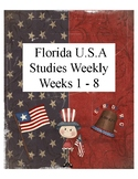 Florida USA Studies Weekly Cloze Passages Weeks 1-8