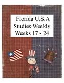 Florida USA Studies Weekly Cloze Passages Weeks 17-24