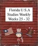 Florida USA Studies Weekly Cloze Passages Weeks 25-32