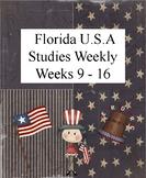 Florida USA Studies Weekly Cloze Passages Weeks 9-16