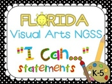 "Florida Visual Arts K-5 NGSS ""I CAN"" Statements"