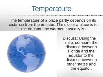Florida Weather Climate Temperature Precipitation Social Studies Sci PowerPoint