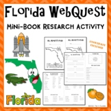 Florida Webquest Common Core Research Mini Book
