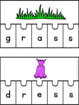 Orton-Gillingham Activities: Floss Rule FLSZ Multisensory Spelling Practice