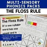 Orton-Gillingham Spelling Rules: Floss Rule FLSZ Multisens