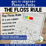 Orton-Gillingham Activities: Floss Rule FLSZ Multisensory