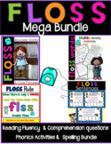 Floss Rule Mega Pack Decodable Stories and Activities Level 1 Unit 4