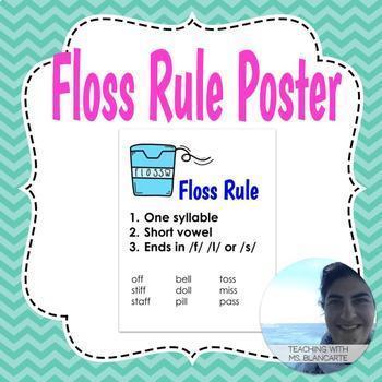 Floss Rule Poster