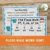 Floss Rule Word Sort