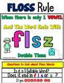 Floss Rule Worksheets Orton Gillingham Spelling