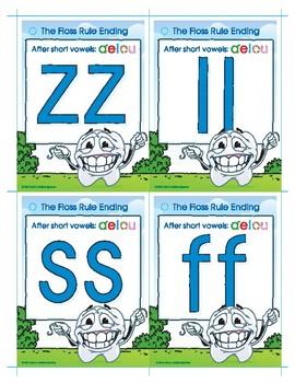 Floss Rule (ff, ll, ss, zz) Buddy Cards
