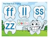 Floss Rule (ff, ll, ss, zz) Spelling Rule Buddy Poster