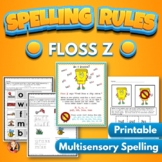 Floss Spelling Rule Activities