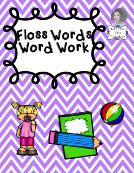 Floss Words Independent Word Work