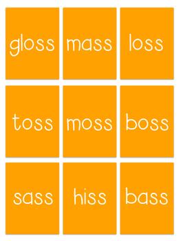 Floss Your Beak Card Game- Orton Gillingham