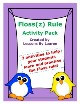 Floss Rule activity pack