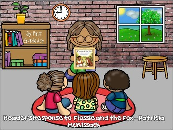 Flossie and the Fox Readers Response
