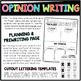 Flossing Dance Opinion Writing