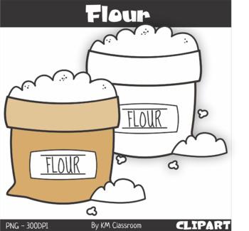 flour clipart by km classroom teachers pay teachers flour clipart