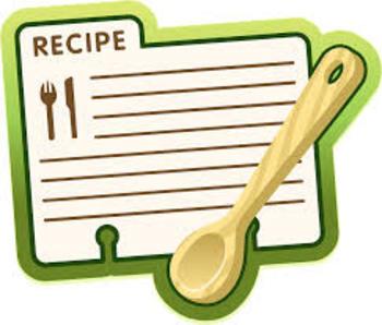 Flour Mixtures Recipe Activity