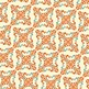 "Flourish Ornament Pattern in Fall Colors, 10-Pack (12"" x 12"")"
