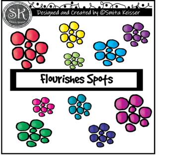 Flourishes Mega Pack Clip Art, Smita Keisser Clip Art