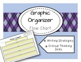 Flow Chart Graphic Organizer Reading and Writing