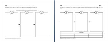 Flow Charts Graphic Organizer Mini-Bundle