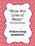 """""""Flow: For Love of Water"""" (2008) Documentary Video Guide Worksheet"""