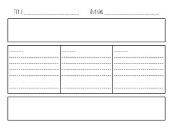 Flow Map Graphic Organizer for Writing