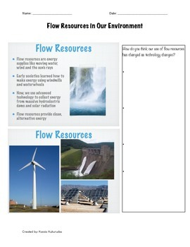 Flow Resouces in Our Environment