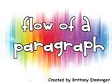 Flow: Teaching A Paragraph's Flow