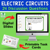 Electrical Circuits and the Flow of Electricity | Discussion Card Activity